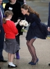 sisters Middleton and their legs